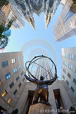 Free Rockefeller Center.New York. Stock Photos - 5406173