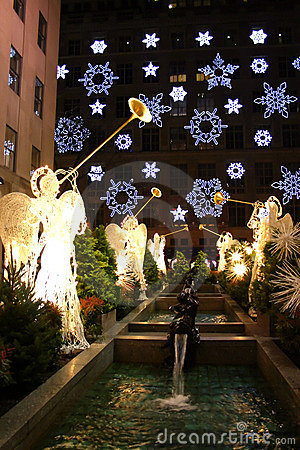 Free Rockefeller Center, New York City Royalty Free Stock Photos - 1673258
