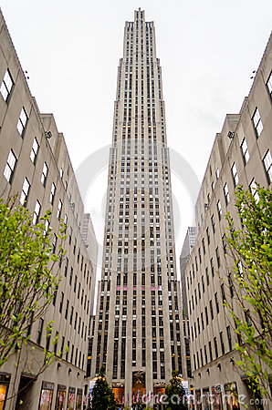 Rockefeller Center, New York City Editorial Photo