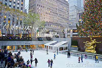 Rockefeller Center Tree and Rink