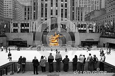 Rockefeller Centre Skating Editorial Photo