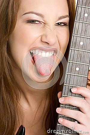 Free Rocker Chick Stock Photo - 4686260