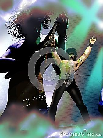 Rocker concert