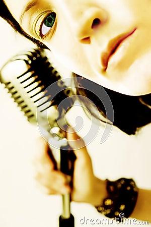 Free Rocker Girl Stock Photography - 853422