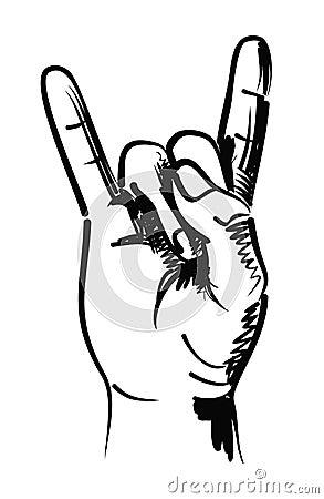 Rocker hand