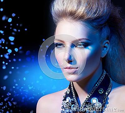 Rocker Style Girl Portrait