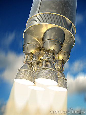 Rocket engine.