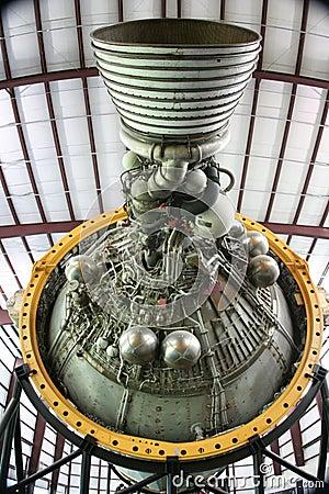 Rocket Motor Editorial Photo