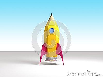 Rocket Pencil Ready