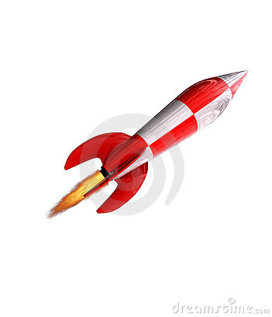 Free Rocket Up Stock Photo - 5207190