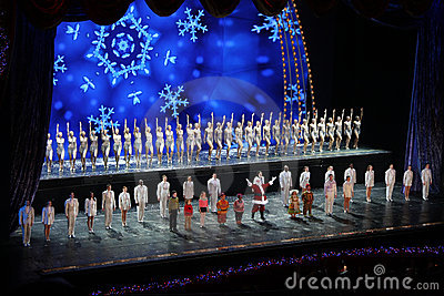 Rockettes at Radio City Music Hall, New York City Editorial Stock Photo