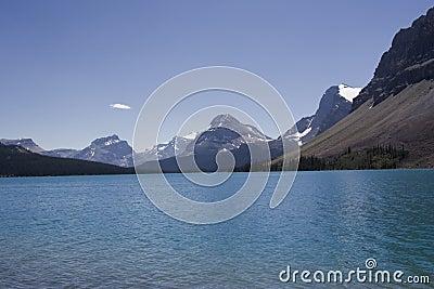 озеро rockies смычка канадское