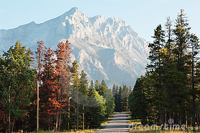 Rockies campsite