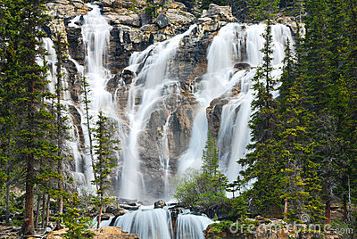 Rockies Waterfall