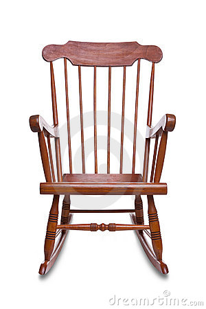 Free Rocking Chair Isolated Stock Image - 16368901