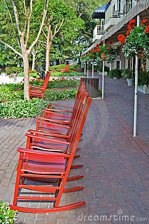 Rocking chairs Harbour Town
