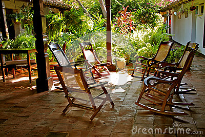 Rocking chairs, Mompos, Colombia