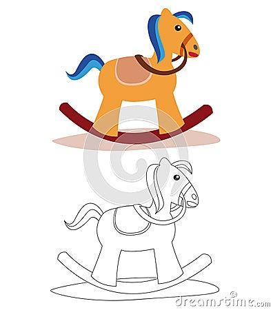 Free Rocking Horse Royalty Free Stock Photography - 14237807