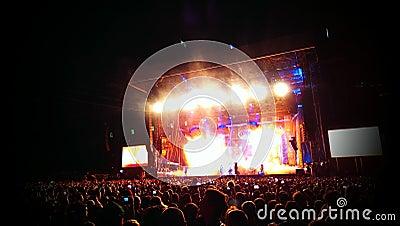 Rockowy koncert