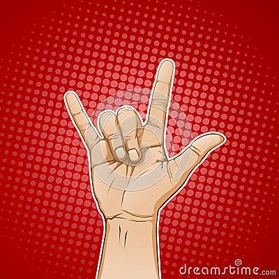 Rockowy znak