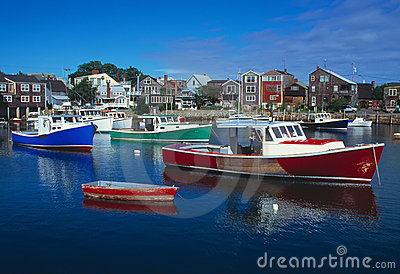 Rockport Massachusetts Harbour