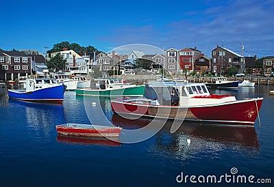 Rockport Massachusetts Harbour