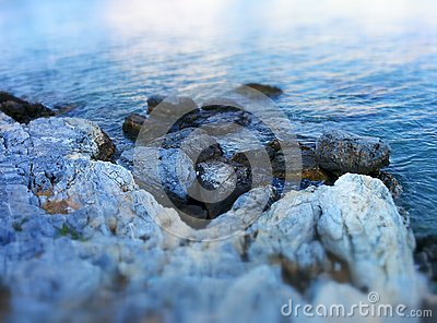 Rocks at aegean sea