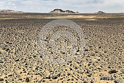 Rocks at the black desert