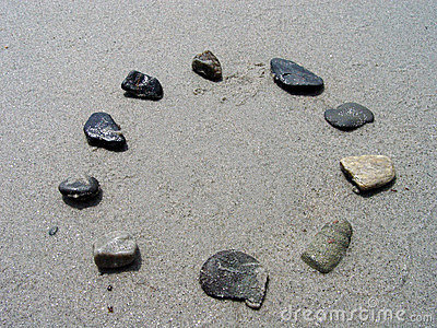 Rocks in a Circle