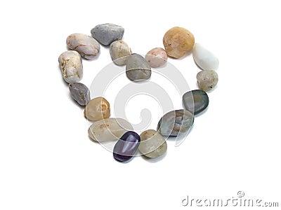 Rocks heart
