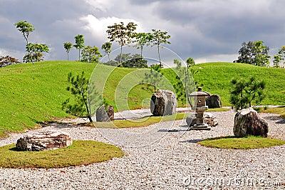 Rocks and landscape