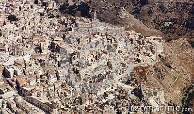 Rocks  of Matera