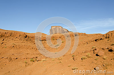 Rocks in Monument Valley