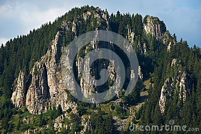 Rocks in Rhodope mountains, Bulgaria