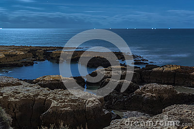 Rocks in a Sea