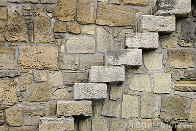 Rocks steps