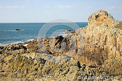 Rocky Coast. Guernsey