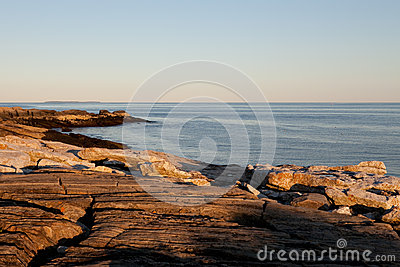 Rocky coast in Maine