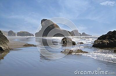 Rocky Coast in Oregon