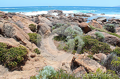 Rocky Coastline  Port Smith West Australia Royalty Free Stock Images - Image: 28100019