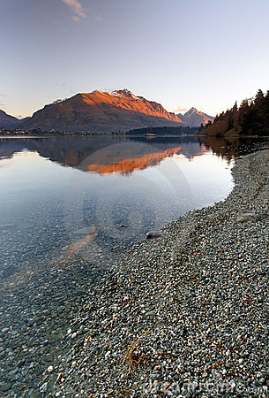 Rocky Lake Wakatipu Queenstown New Zealand