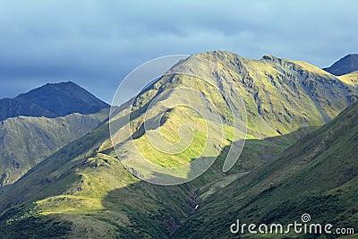 Rocky landscape of Alaska