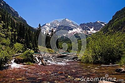Rocky Mountain Beaver Dam