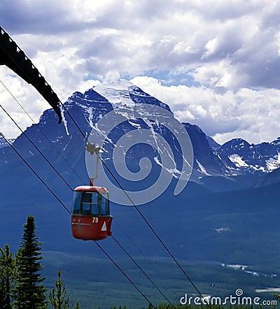Rocky Mountain Gondola Ride Banff Alberta Canada
