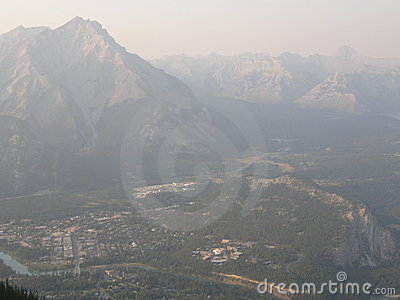 Rocky Mountains in Alberta, Canada