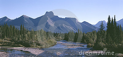 Rocky Mountains British Columbia Canada