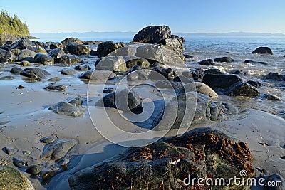 Rocky mystic beach