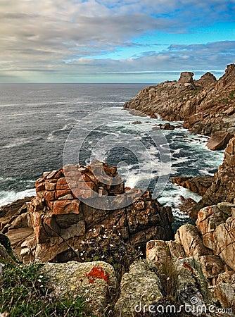 Rocky ocean Coast (Galicia)