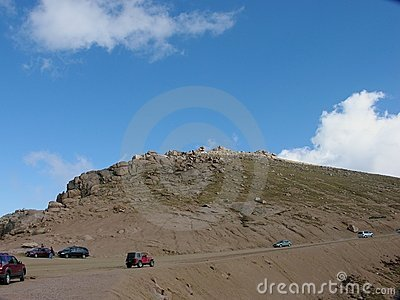 Rocky Pikes Peak