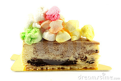 Rocky Road Cheese Cake